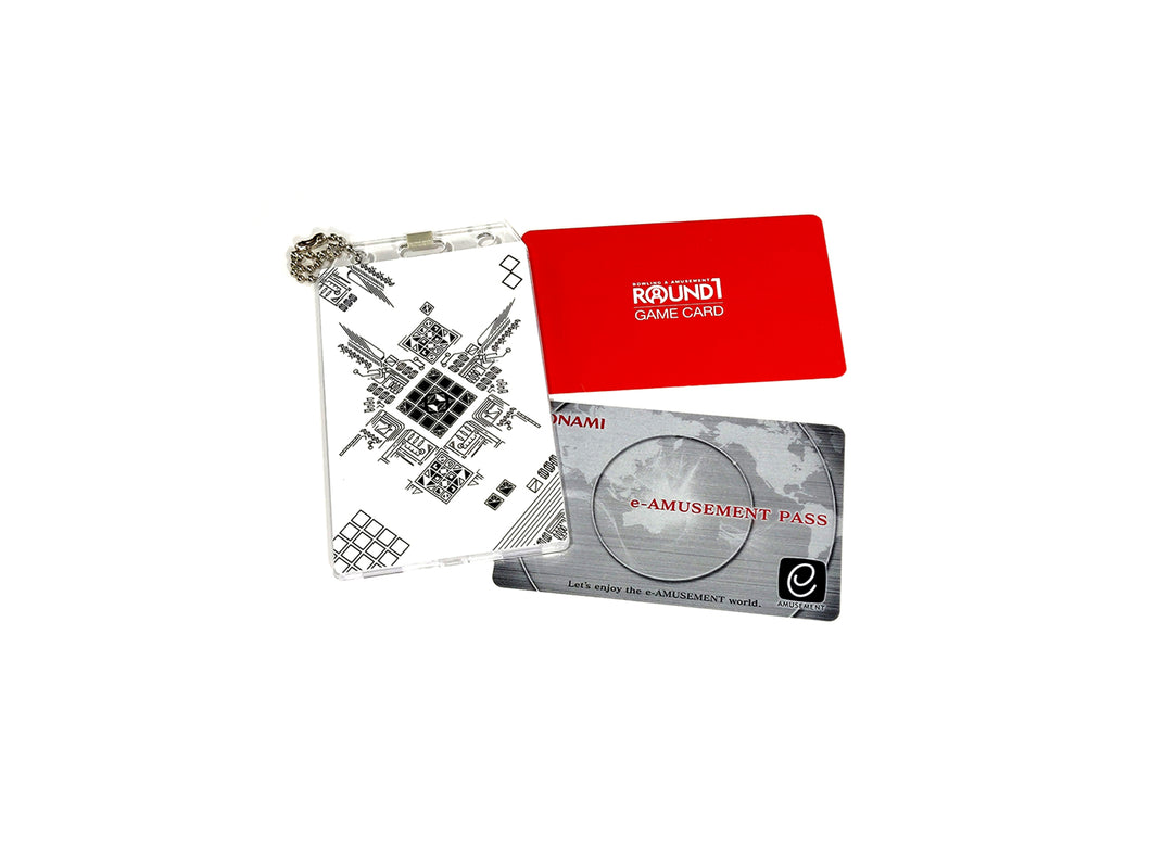 JUBEAT GRAPHIC CARD HOLDER