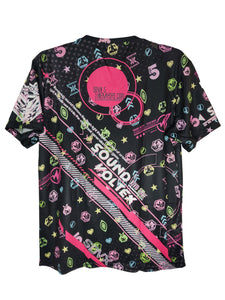 SDVX 5 VIVID WAVE DARK SHIRT