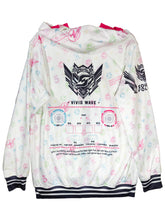 Load image into Gallery viewer, SDVX 5 VIVID WAVE ZIPPER HOODIE