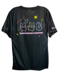 DANCERUSH STARDOM GRAPHIC DARK SHIRT