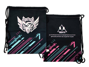 SDVX BLACK DRAWSTRING BAG
