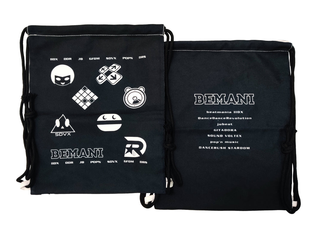 BEMANI DRAWSTRING BAG