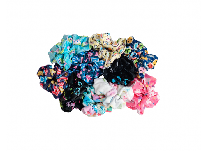 RHYTHM GAME SCRUNCHIES
