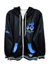 Load image into Gallery viewer, DDR A20 BLUE ZIPPER HOODIE