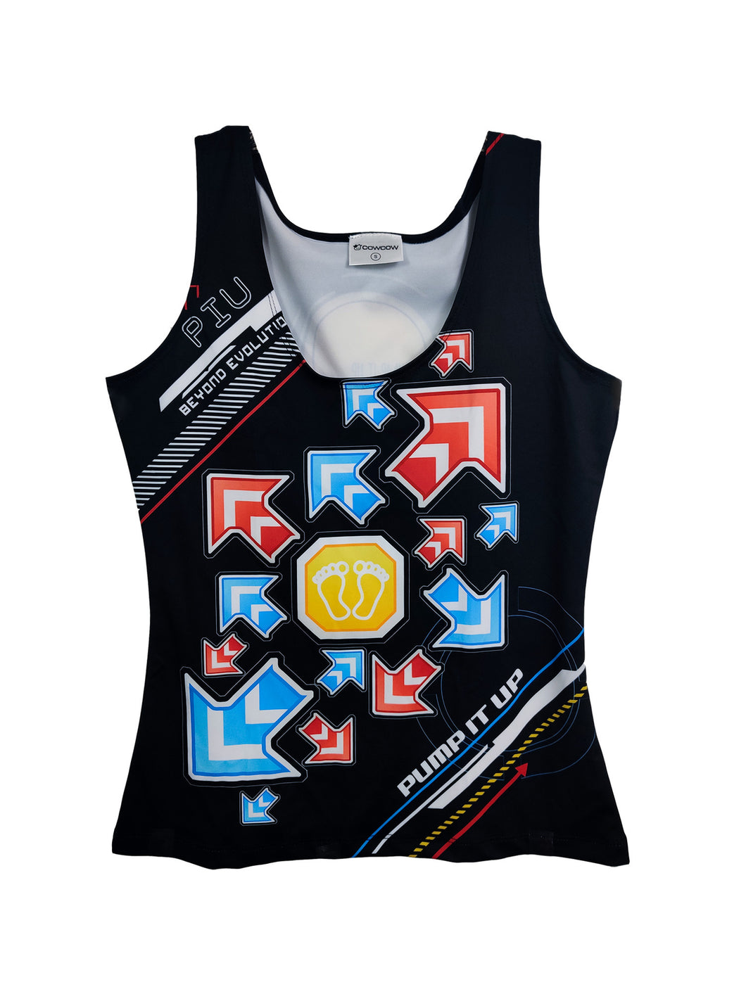 PIU ARROWS DARK WOMEN TANKTOP
