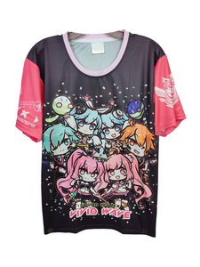 SDVX 5 VIVID WAVE CHIBI DARK SHIRT