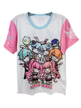 Load image into Gallery viewer, SDVX 5 VIVID WAVE CHIBI SHIRT