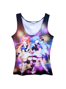 PIU CROSS TIME WOMEN TANKTOP
