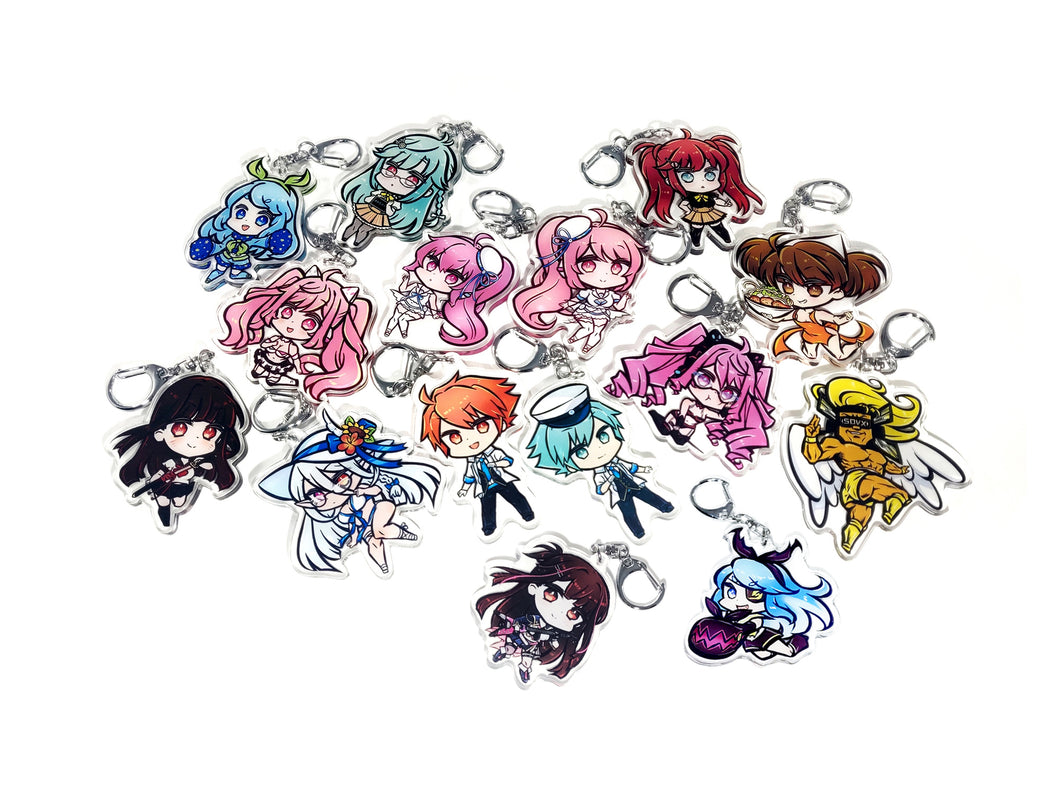 SOUND VOLTEX CHIBI CHARMS