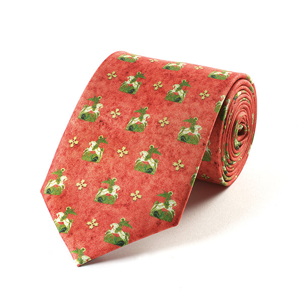 George and Dragon Silk Tie