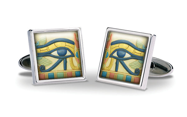 Eye of Horus Cuff Links