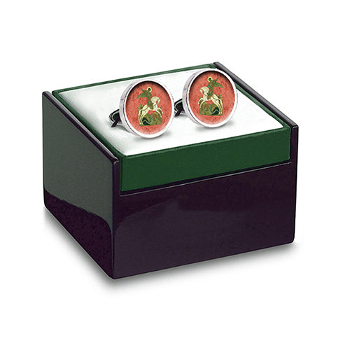 George and Dragon Cuff Links