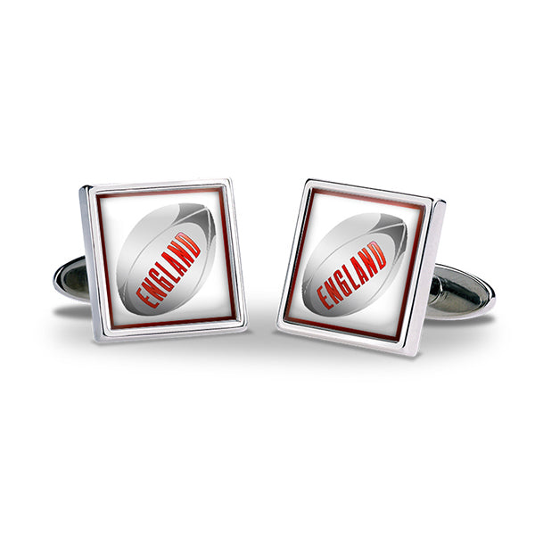 England Rugby Cuff Links