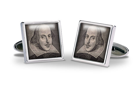 Shakespeare Portrait Cuff Links