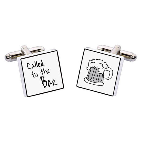 Called to the Bar Cuff Links