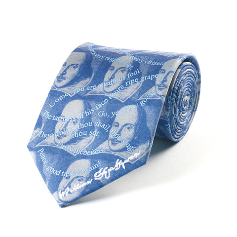 Shakespeare Insults Silk Tie