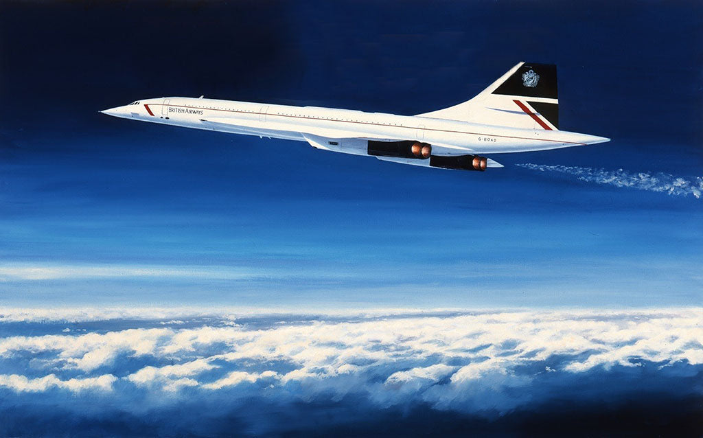 Concorde Painting