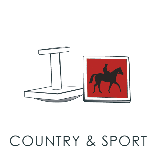 Country and Sport Cuff Links