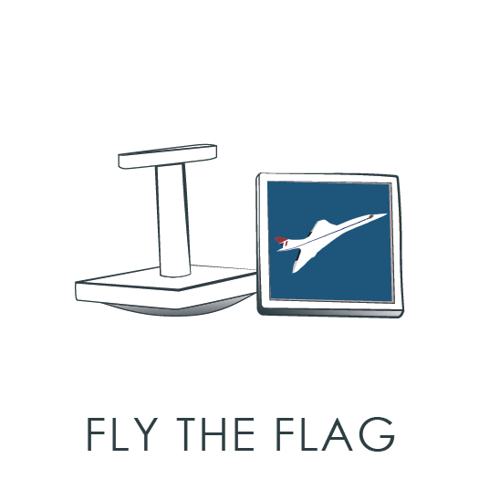 Fly the Flag Cuff Links
