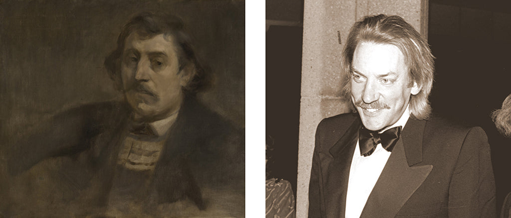 Paul Gauguin and actor Donald Sutherland