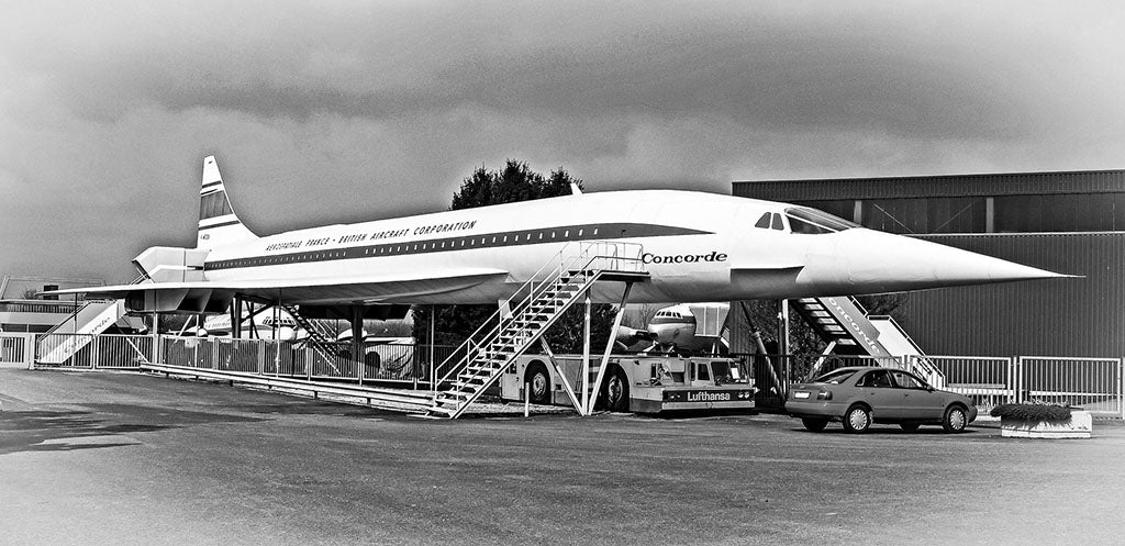 Grounded Concorde
