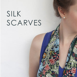 Fox & Chave Silk Scarves