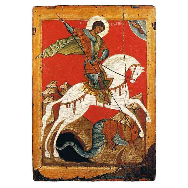 Russian Icon of St. George
