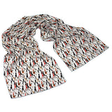 Going to Work Pearl Crêpe de Chine Scarf