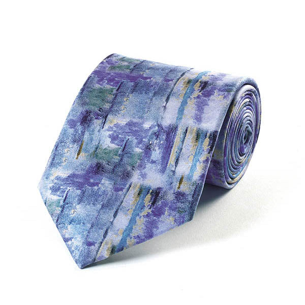 Lake after Cézanne Silk Tie