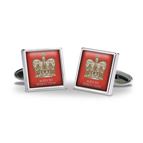 Crown Aged To Perfection Cuff Links