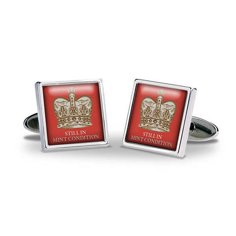 Crown Still In Mint Condition Cuff Links