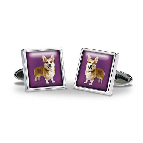 Royal Corgi Cuff Links