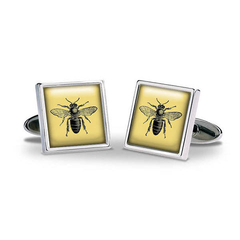 Bee Gold Cuff Links