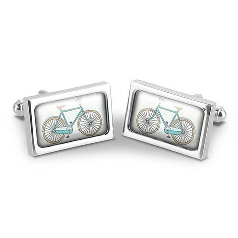 Bicycles Cuff Links