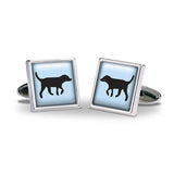 Black Lab Cuff Links
