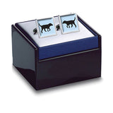 Black Lab Cuff Links Boxed