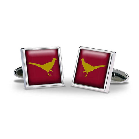 Pheasant Cuff Links