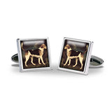 Stubbs Foxhound Cuff Links