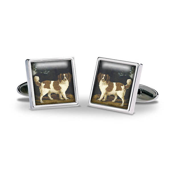 Stubbs Spaniel Cuff Links