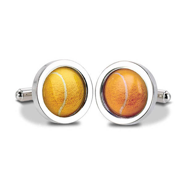 Tennis Ball Cuff Links