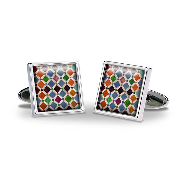 Alhambra Tiles Cuff Links