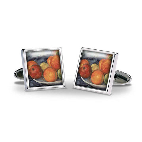 Cézanne Fruit Cuff Links