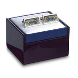 De Morgan Dragon Cuff Links in box