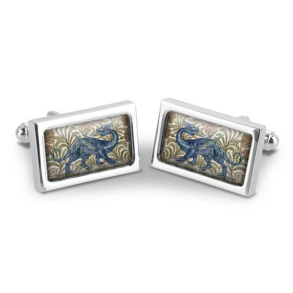 De Morgan Dragon Cuff Links