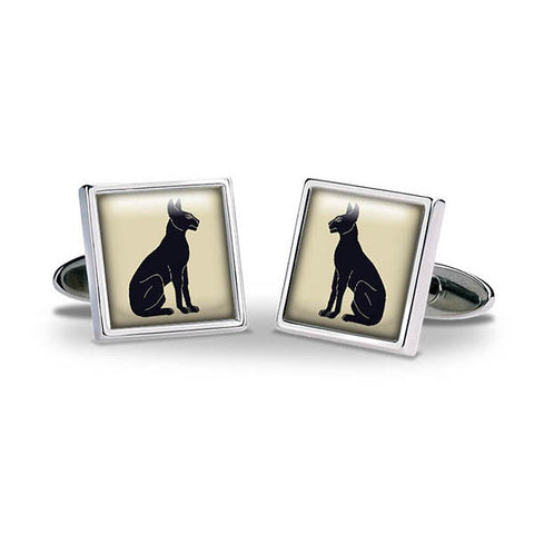 Egyptian Cats Cuff Links
