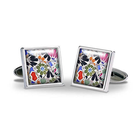 Gaudi Mosaic Cuff Links
