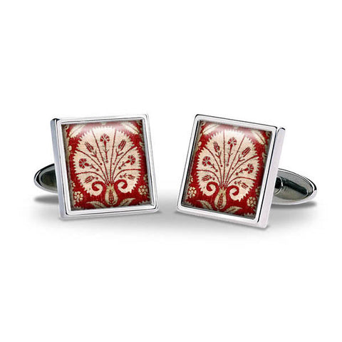 Islamic Dianthus Cuff Links