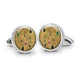 Klimt Gold Cuff Links