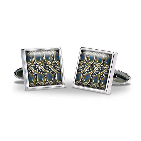 Mackintosh Peacock Eyes Cuff Links