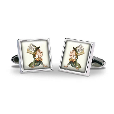 Mad Hatter Cuff Links